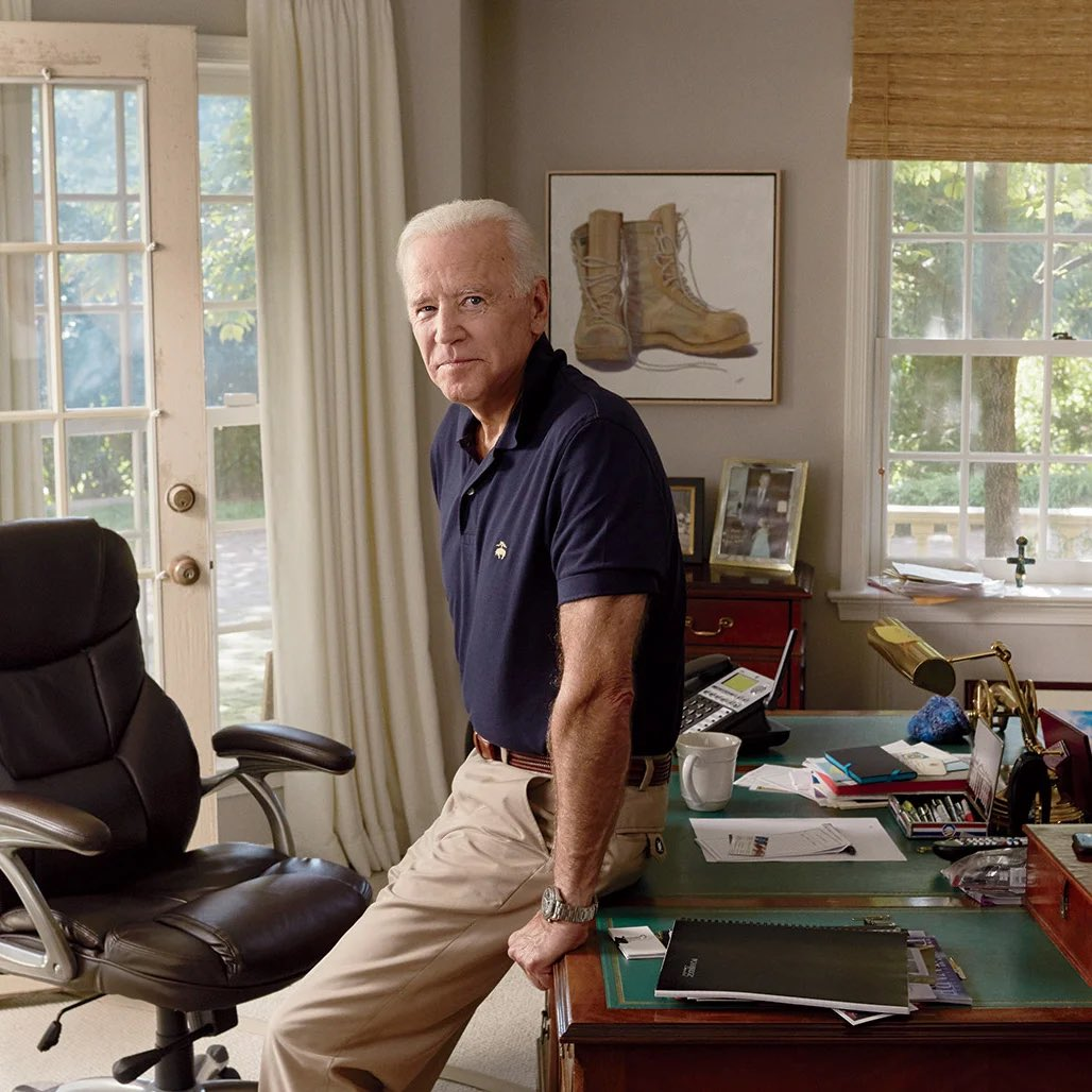 With an overwhelming mandate to lead in a more mature manner than his infantile predecessor, Joe Biden commits to govern from furniture made for adults.