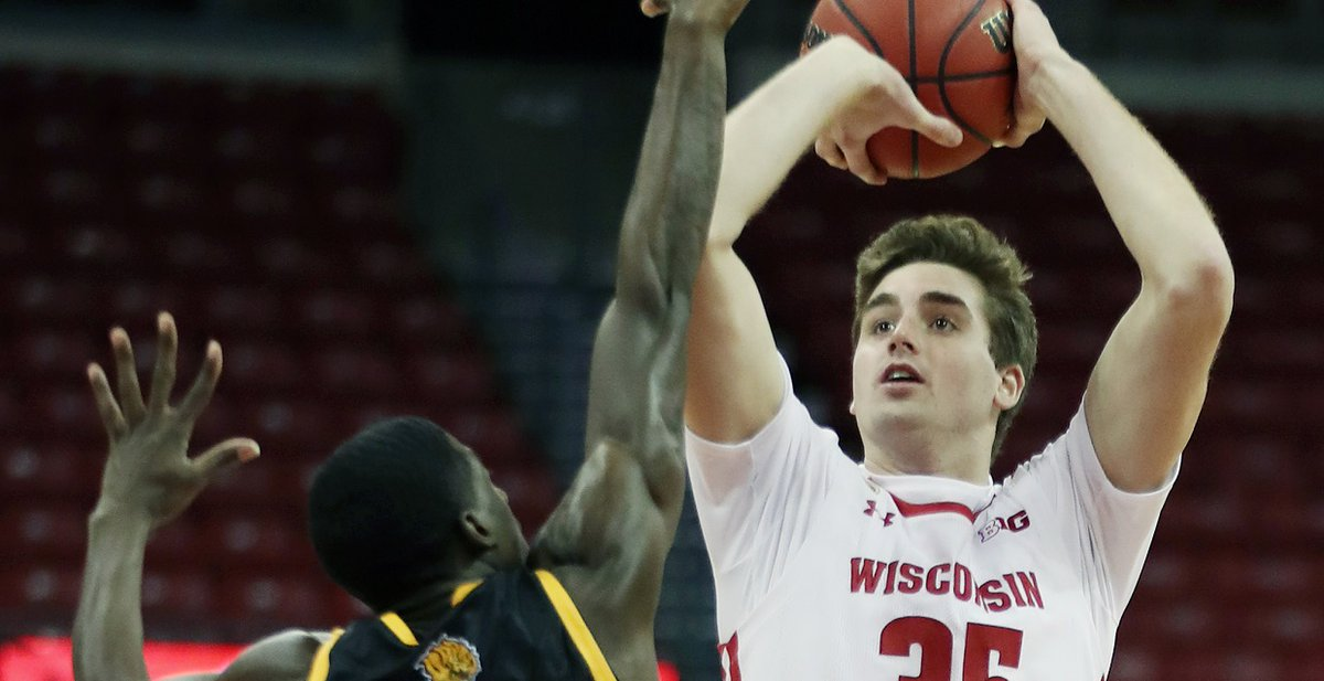 Overtime: #Badgers use a 25-0 opening run to put away Arkansas-Pine Bluff.