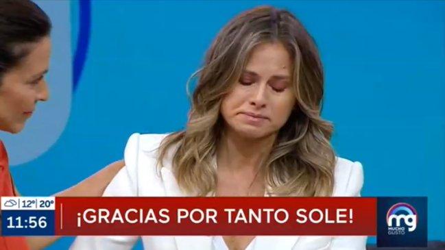 Soledad Onetto se fue entre lágrimas del Mucho Gusto ►  https://t.co/ov0kiD5IoZ https://t.co/qh2qyiWIUH