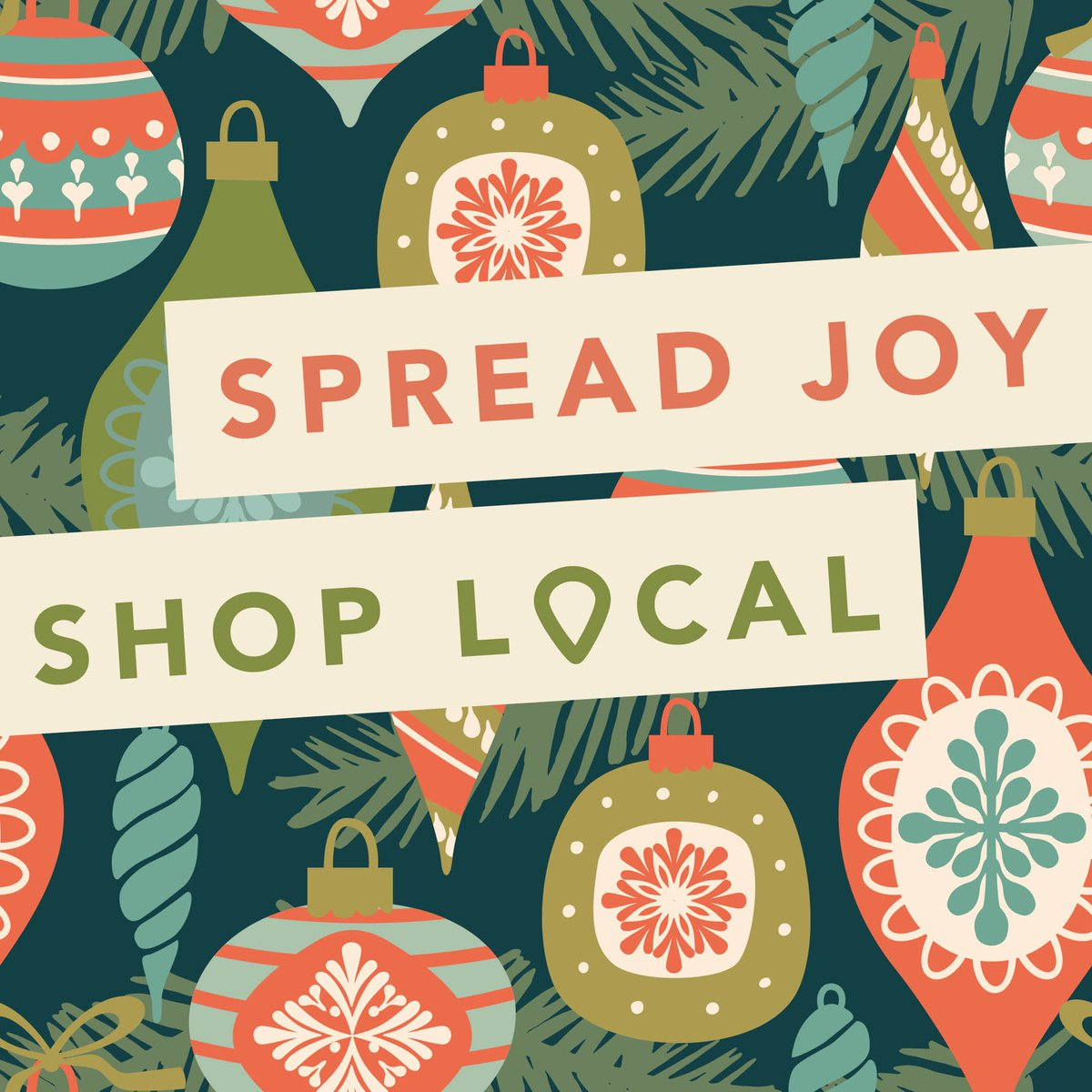 To spread the shop small love, tag a small business you're shopping today! #shopsmall #SmallBusinessSaturday   Thank you for shopping local and small this holiday season ❤️