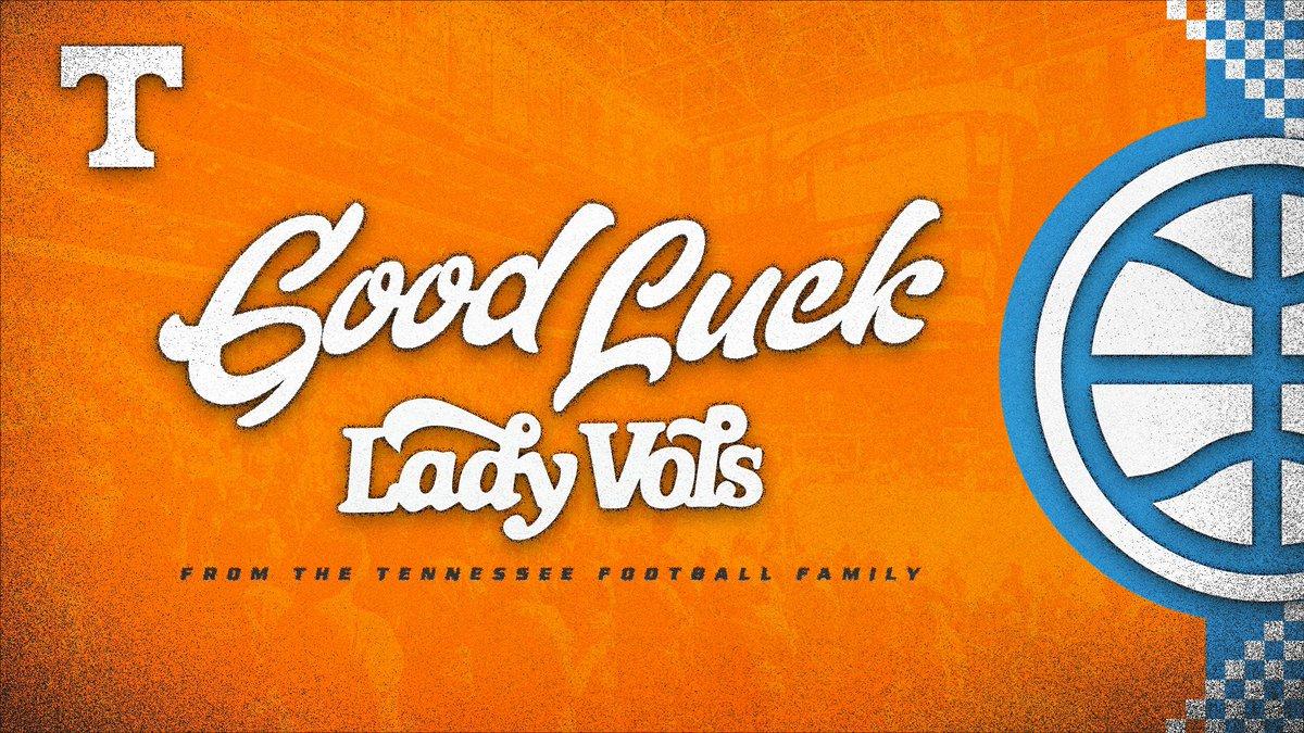 Let's go Lady Vols! 👏🏀  Good luck this season, @LadyVol_Hoops! https://t.co/6M8GiCrYsb