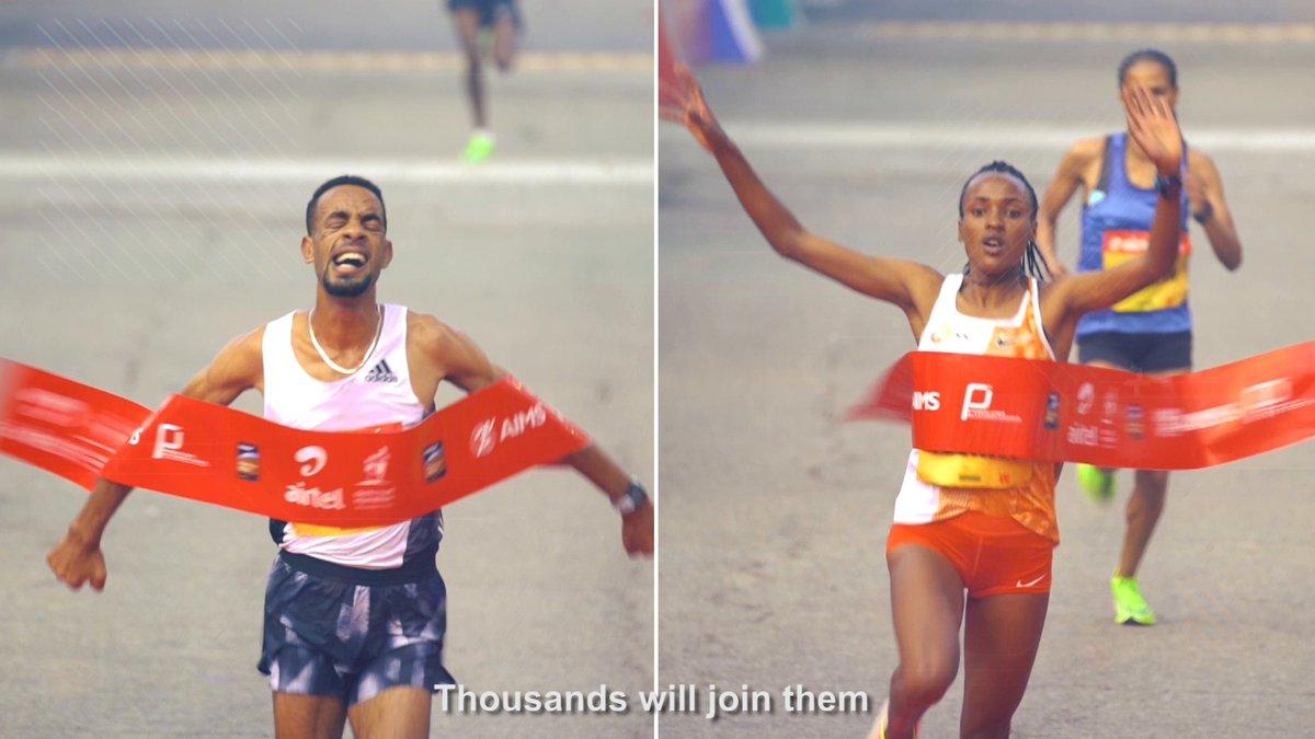 The world's best athletes take centre stage on the streets of Delhi!   Watch the Airtel Delhi Half Marathon tomorrow at 7 AM on Star Sports 2/2HD & Disney+ Hotstar.