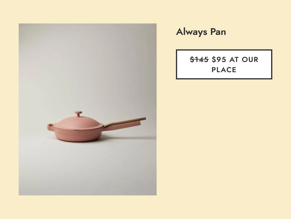 And this do-it-all Always Pan was a reader favorite. trib.al/moqYdXX