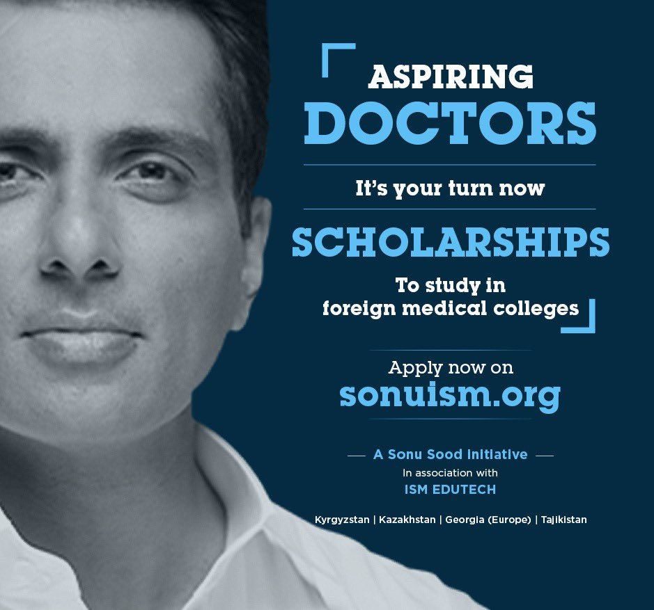 I want every child who dreams to become a doctor to be a doctor. Iam here to announce the launch of ! It's my scholarship program in association with ISM EDUTECH to help needy students fulfill the dreams of becoming a DOCTOR, let's make a healthy nation.