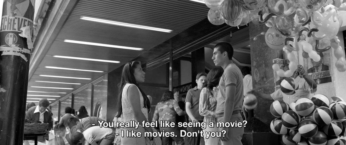 Replying to @sjmay92: Roma (2018) Dir. Alfonso Cuarón