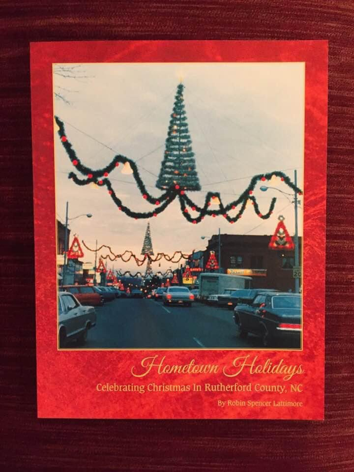 Join Robin Lattimore as he releases his newest book Hometown Holidays. He will be signing copies of this wonderful Christmas book at Hills Hardware from 11:00 am until 1:00 pm. Books are $25.00 each. All Proceeds Benefit the Historical Society.