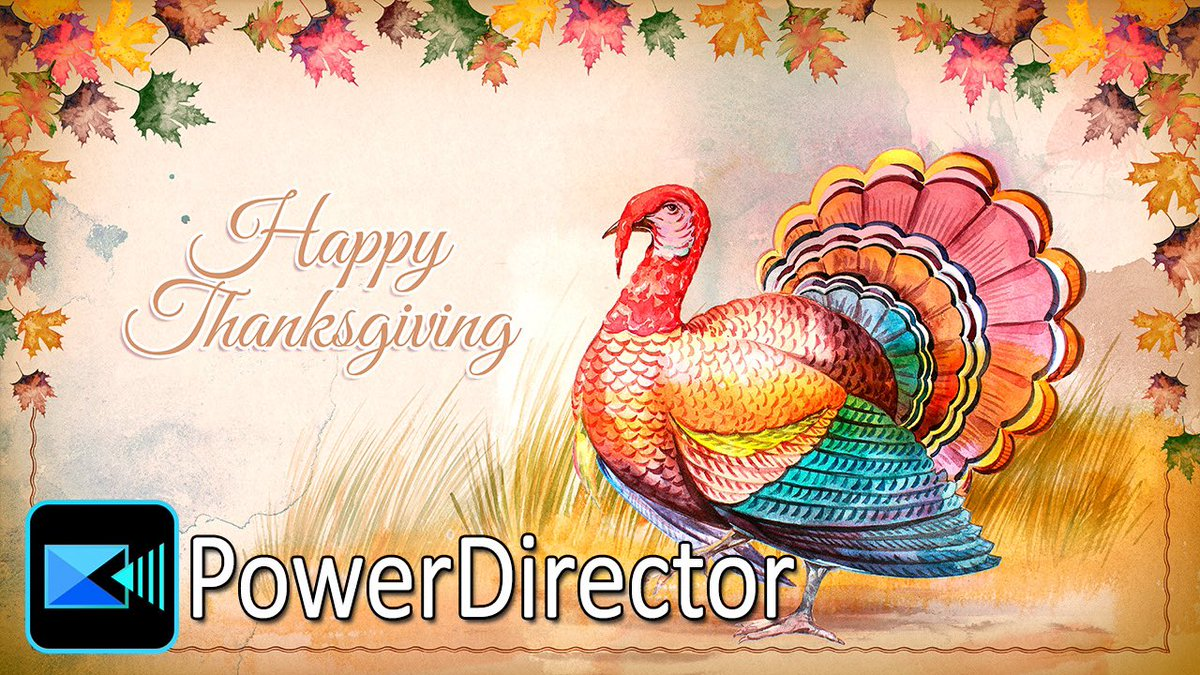 Wishing a Happy Thanksgiving to all of my PD Peeps.  🔥 https://t.co/IrQKgvIrIX  🔥  #powerdirector #cyberlink #videoediting https://t.co/s8t8r4LgZx