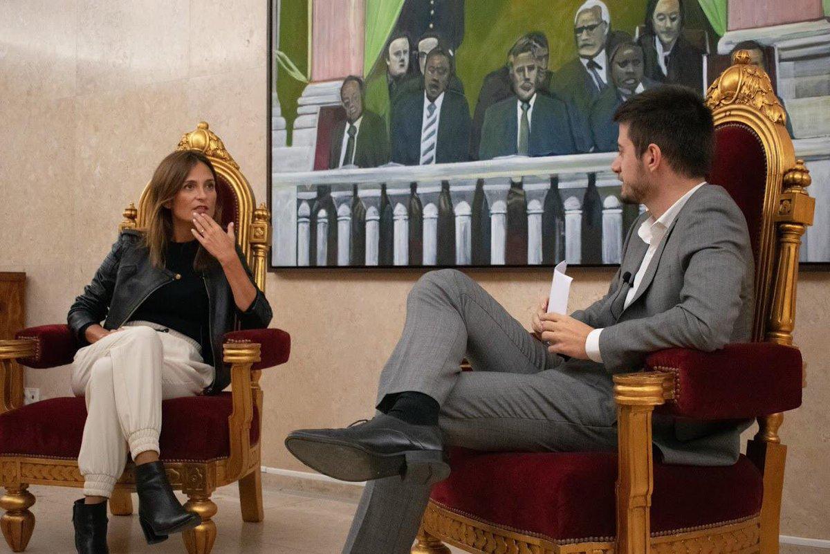 Isabel Moreira é a próxima entrevistada do Os 230  • A deputada por Partido Socialista foi eleita pelo círculo de Eleitoral de Lisboa e é Advogada.  • Parceria Comunidade Cultura e Arte e Os 230  📷Daniela Loulé https://t.co/oxGEXrkLOO