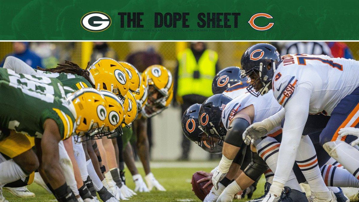 Los Green Bay Packers renuevan su mayor rivalidad con los Chicago Bears mañana en horario estelar, será la 15va temporada en que ambos equipos colisionen en Sunday Night Football. (La racha más larga en la historia de la NFL). 📸   #GoPackGo  #CHIvsGB