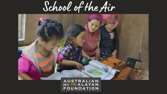The Australian Himalayan Foundation has responded to COVID-19 by helping to keep kids learning through the School of the Air.   If you're able to help reach our fundraising goal for the AHF, see link in bio  #trekking #himalayas https://t.co/RHCCleqnuJ
