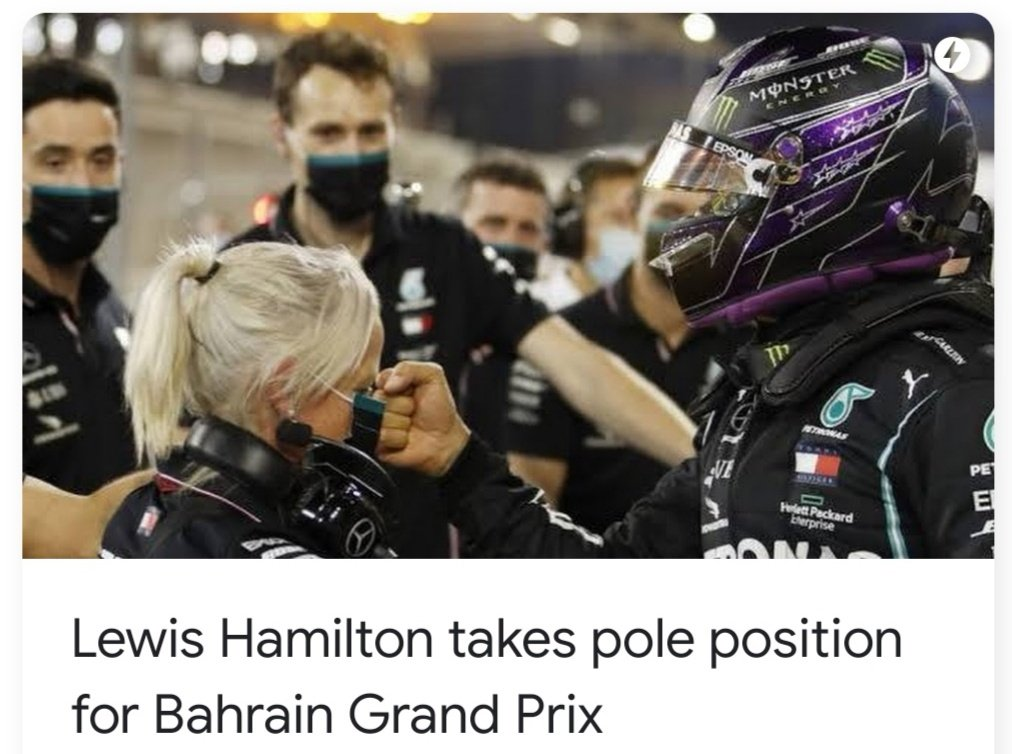 Why did they pick a picture that looks like Lewis Hamilton is punching Angela Cullen in the face? https://t.co/aUrQAV9Dnh