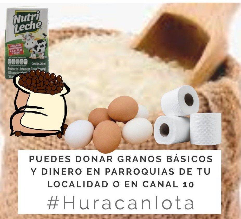 Pueblo autoconvocado vos y yo podemos ayudar a los damnificados  por el #Huracanlota, ellos lo han perdido todo. Quizás hoy no comprés algo en promociones de todas las tiendas, pero eso lo podrías donar para los más necesitados de éste momento. #AyudemosaAyudar #SOSNicaragua