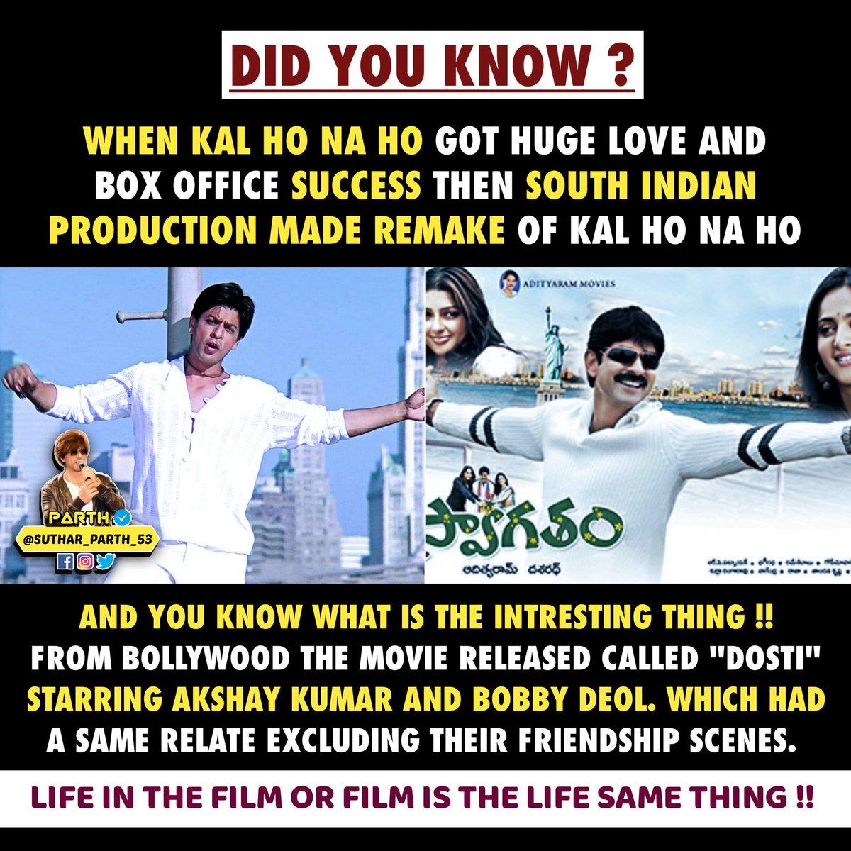 #17YearsOfKalHoNaaHo @iamsrk @realpreityzinta @karanjohar #SaifAliKhan Thank you for This Iconic Movie ❤️ @SutharParth_53