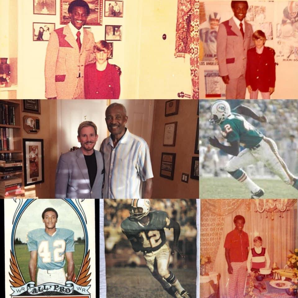 A Very Happy Birthday to a Man who is so much more to me than just a Friend  @ProFootballHOF er Paul Warfield. Love You Paul. #happybirthday #paulwarfield #nflhalloffame #tbt #ohiostatefootball #clevelandbrowns #miamidolphins #72dolphins #perfectseason https://t.co/k9EYnqVAjk