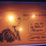 Image for the Tweet beginning: 7 anni fa @makkox mi