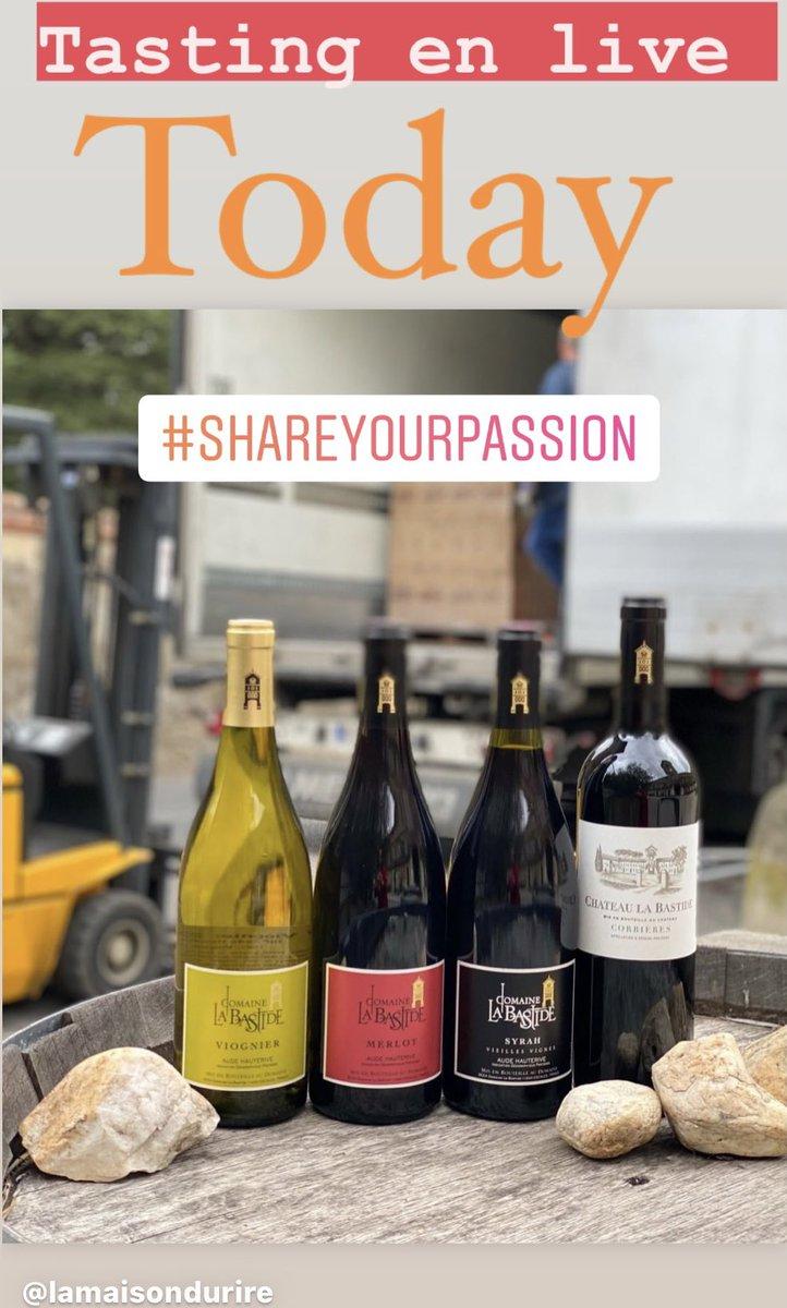 Follow women in wine 🍷 Tasting at 6 pm! Welcome #winetasting #languedocwine #fridaymotivation #winelovers🍷 #wineoclock #winetime #foodandwine #womeninwine #sommeliers #vigneronsindependants @aoc_corbieres @languedocwinesuk @lamaisondurire #maisondelaroche @languedocwinesusa https://t.co/Ld6q2ZYyyN