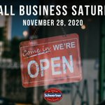 Image for the Tweet beginning: Today, on #SmallBusinessSaturday, I encourage