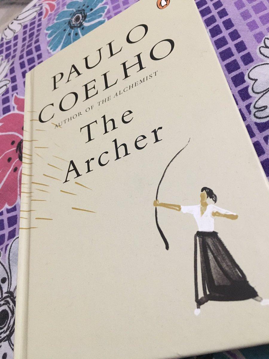 Finally Arrived 👀 @paulocoelho #thearcher