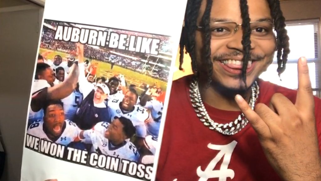 Small victories are still victories 😂 #GameDaySigns