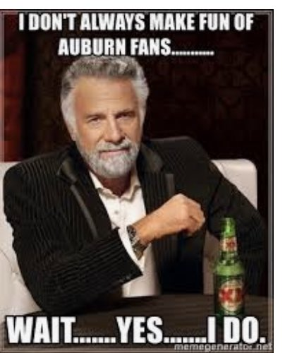Damn Right!! If you're in my feed today wearing orange I hope you went deer Hunting and not a cow college fan!! #BamaGameday #BamaVsAuburn #ironbowl2020