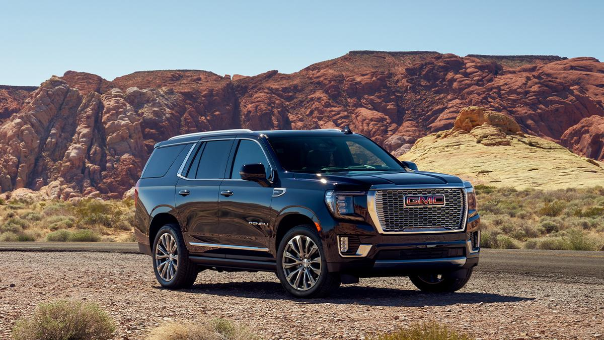 Bringing the heat to the Valley of Fire. #GMCYukon #Denali s.gmc.com/ve3m3