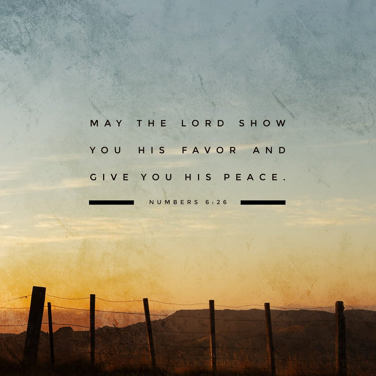 The Lord bless you and keep you! The Lord let his face shine upon you, and be gracious to you! The Lord look upon you kindly and give you peace! #Numbers 6:24-26 #wordofgod #verseoftheday #Jesus  #StayHome #StaySafe  #WeShallOvercome #GodBlessUsAll