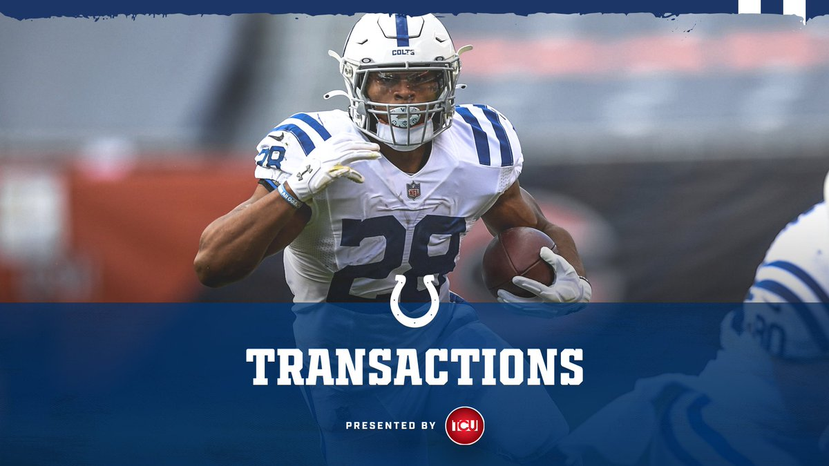 We have placed RB Jonathan Taylor on the Reserve/COVID-19 List.