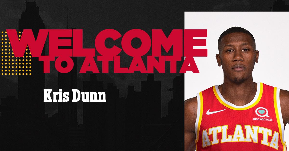 ROSTER UPDATE: We've signed guard Kris Dunn.  Details: https://t.co/nIgkxiAHJC https://t.co/glnjV5a8Yd