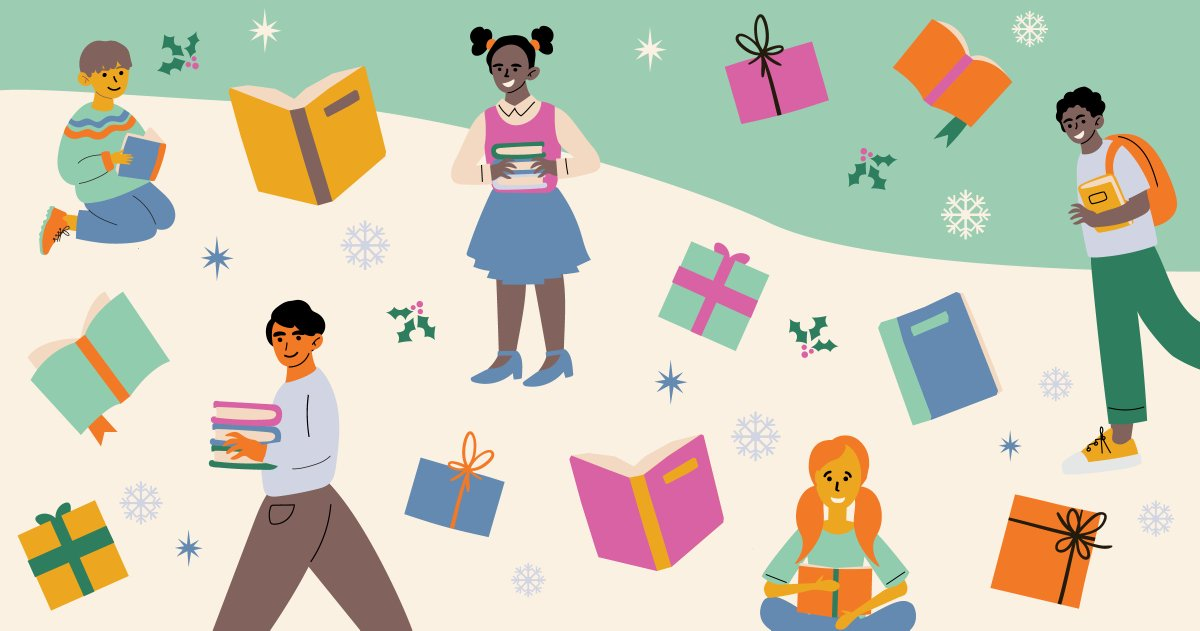 The holidays are rapidly approaching. Now is the time to start thinking about the perfect gifts to get the young people in your life. What better gift to give than books?