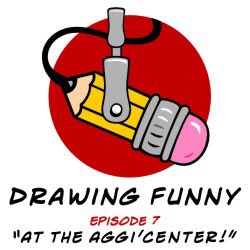 """Ep.7- """"At The Aggi'center"""" is available. Uploaded last night so technically another #FlashbackFriday #DrawingFunnyPodcast episode. Interviews I did in 2018 @MemphisComicExp with @themikenorton #jennyfrisonart @DietrichOSmith & @JSaltygirlWade @world_wade ✏️🎧🎤 #DonnieConROCKS 🤘"""