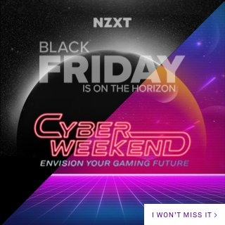 AnneMunition - The time to upgrade is now! Whether buying for yourself or someone you love, @NZXT's Cyber Weekend deals save you $$$ on kickass pre-built PCs that are easy to upgrade as technology and your needs change!  The sale ends on the 30th so don't wait ⏰   #ad