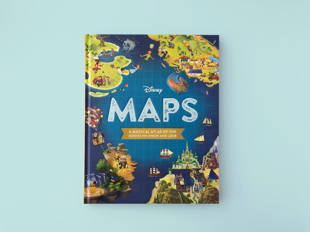 """Explore Nomanisan Island and more in """"Disney Maps"""" from @DisneyBooks:"""