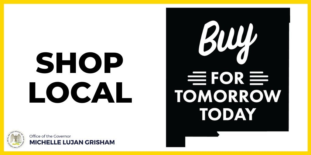 You can also Buy for Tomorrow Today by heading to  to purchase gift cards from your favorite local business –the site features over 800 businesses from across the state! #ShopSmall #BuyLocal