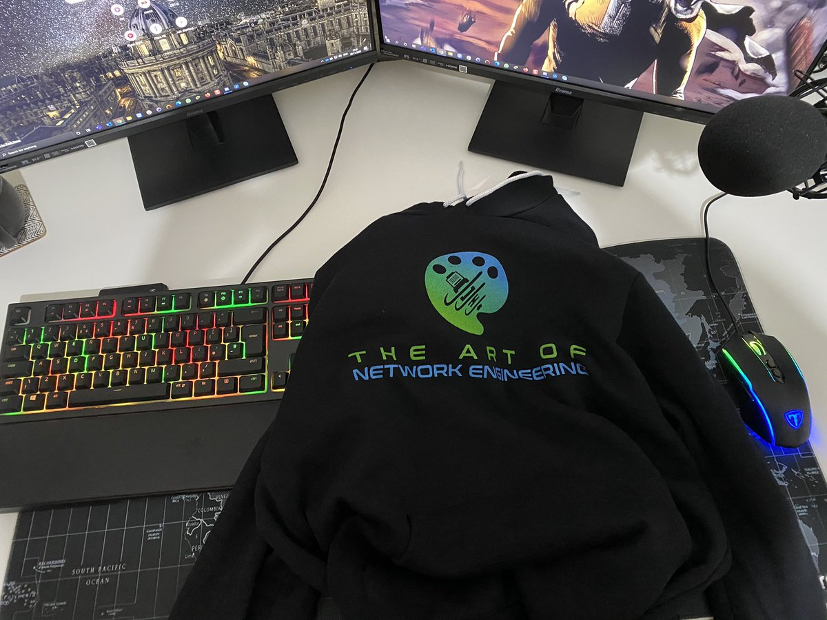 We couldn't do awesome giveaways without fans like @JayPJ0 and the rest of you! #aone #merch #ciscocert #networkengineer #labeveryday #ccna #ccnp https://t.co/orHqUv5YPi