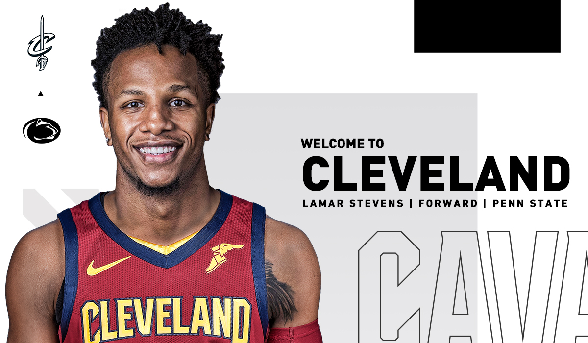 OFFICIAL: #Cavs sign F @LamarStevens11 to two-way contract.  DETAILS: https://t.co/v3LOeLbKrq https://t.co/vHHZtm2cjB