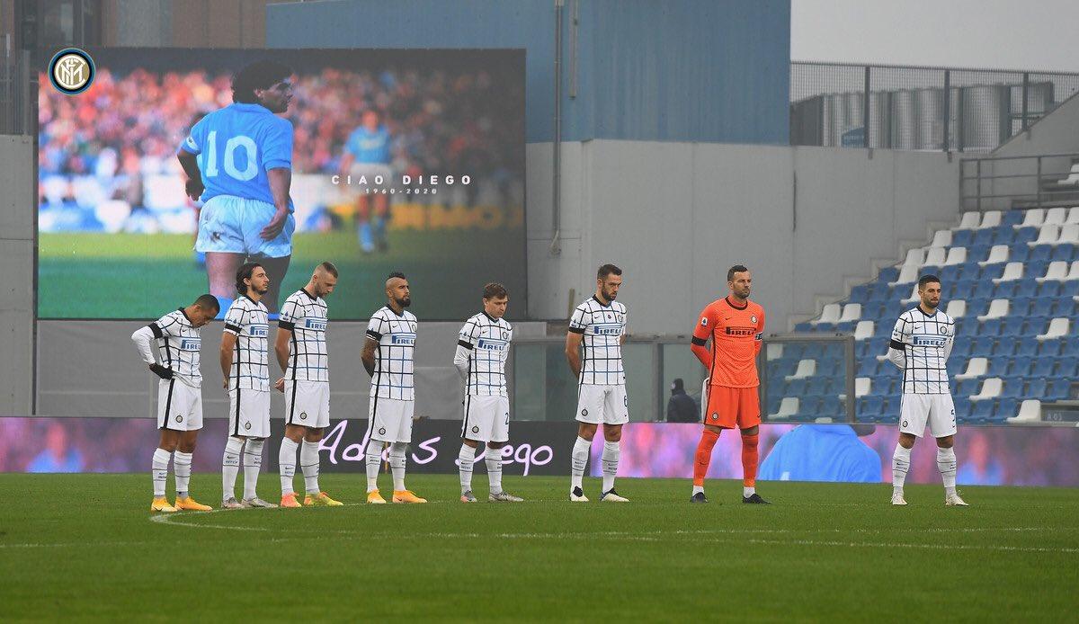 Replying to @DarmianOfficial: Step by step! Bella vittoria!! +3 💪 ⚫️🔵 @Inter  #SassuoloInter #ForzaInter #SerieA