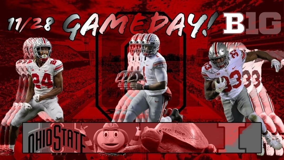 GAMEDAY! (If the game didn't get postponed) still worth posting 🔴⚪️🌰🏈🔥 #Buckeyes #OhioState #ohiostatefootball @OhioStateFB https://t.co/CNzzO6IxZG