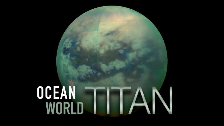 😯 Earth isn't the only place with rivers, lakes & seas.  Saturn's moon Titan has them, too — not of water, but liquid methane & ethane! This frigid world even hides a liquid water ocean deep beneath its surface.   Here's what you need to know about Titan: https://t.co/MKJJyAgLTN https://t.co/jPb7lUW68S