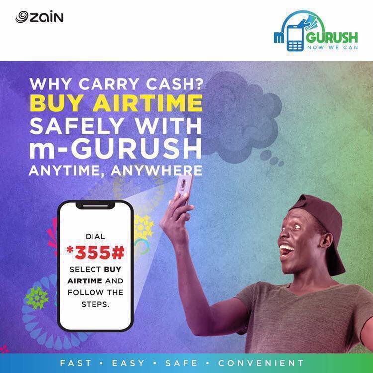 You can now buy airtime with your m-GURUSH account anytime, anywhere across South Sudan. Dial *355# and then select the option 'BUY AIRTIME.'  #SouthSudan #NewDawn #NowWeCan #StaySafe #Covid19 https://t.co/vygxdOBasb