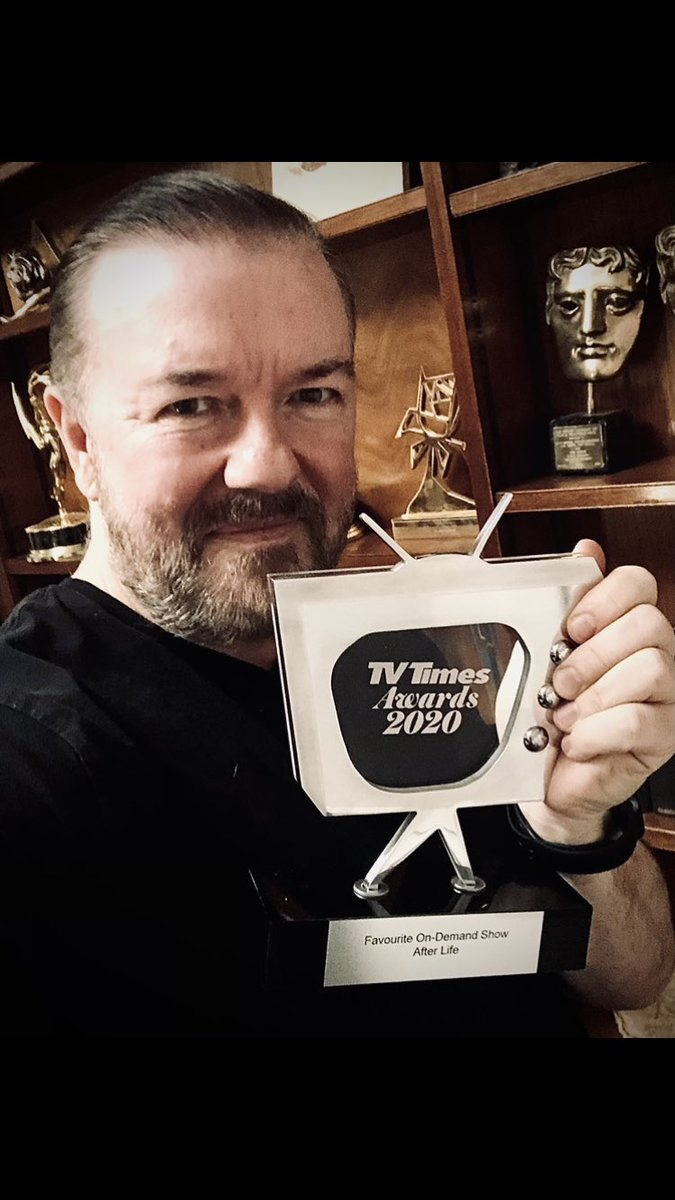#AfterLife has won another award!  Thank you @tvtimesmagazine and everyone who voted 🙏