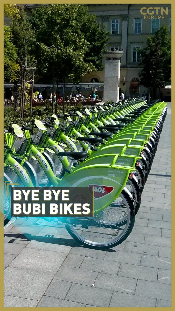 🚲 Budapest's Mol Bubi public bike scheme has been halted for an upgrade causing anger over the timing in the middle of the COVID-19 pandemic. A study has shown that 25 percent of COVID19 deaths in Hungary are linked to air pollution.  Watch it in full ▶️