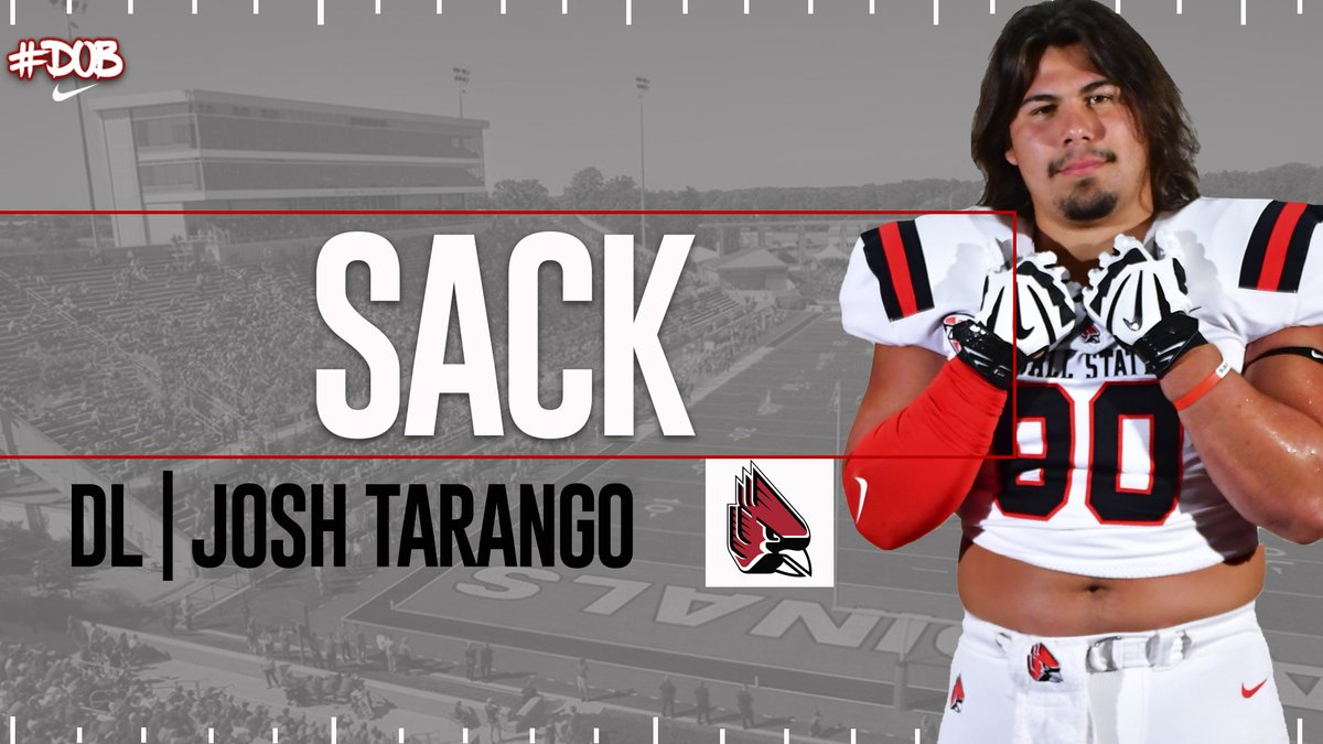 HUGE STOP ON 3RD DOWN! @tarango_joshua gets to the QB and Toledo punts.  17-0 Cards with 4:21 left in the 1st half. #DOB #1AAT