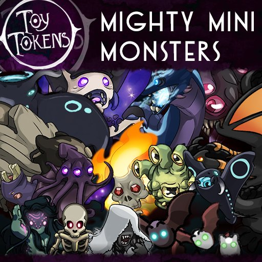 Just a reminder my first token pack on roll20 is up! And you can download all tokens in it! Get some creepy and cute monsters for you ttrpg games!