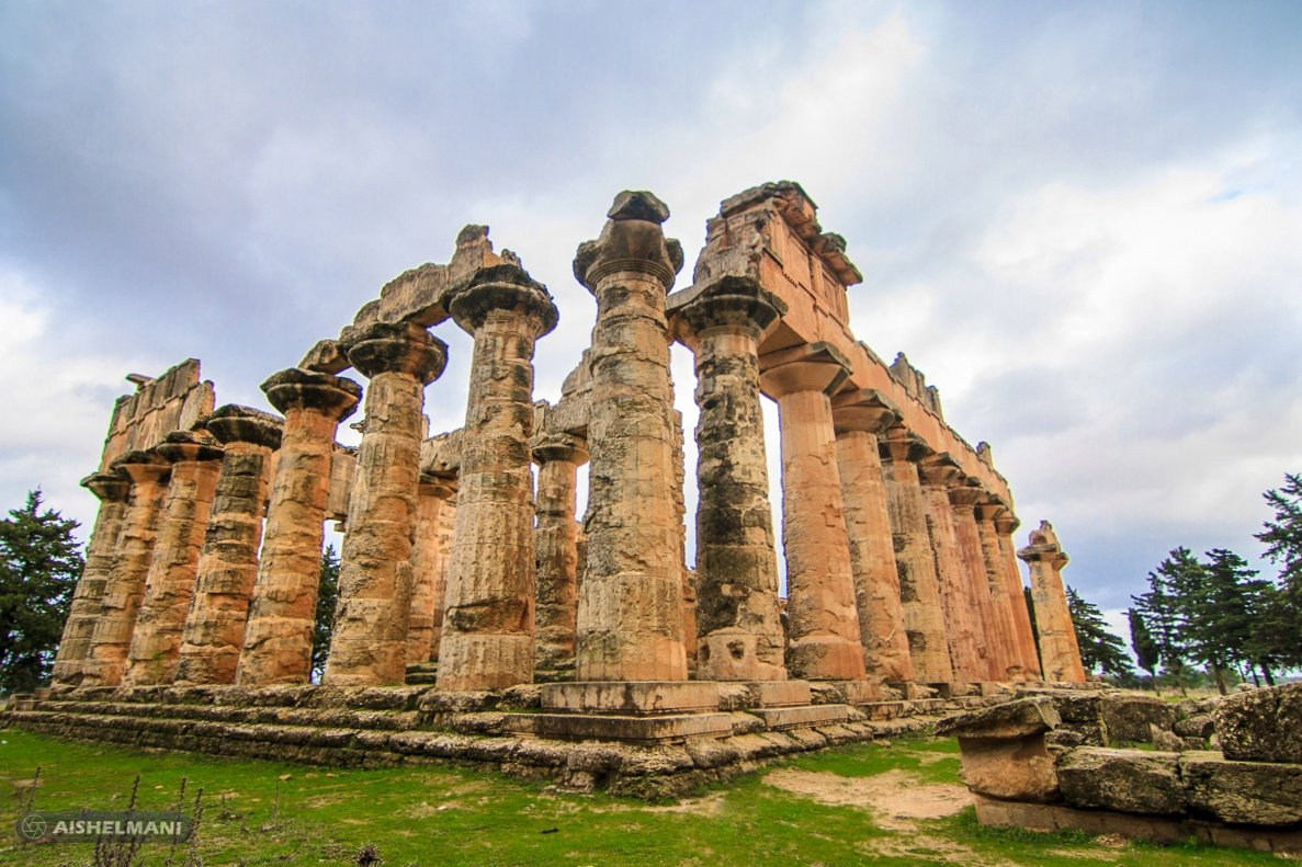 #معبد_زيوس #اثار_شحات #قورينا #ليبيا #libya  اكبر معبد في #شمال_افريقيا ثاني أكبر معبد بالعالم #تصويريcanon #نوفمبر2020 #11_16mm_F2.8CF #توكينا_16_11