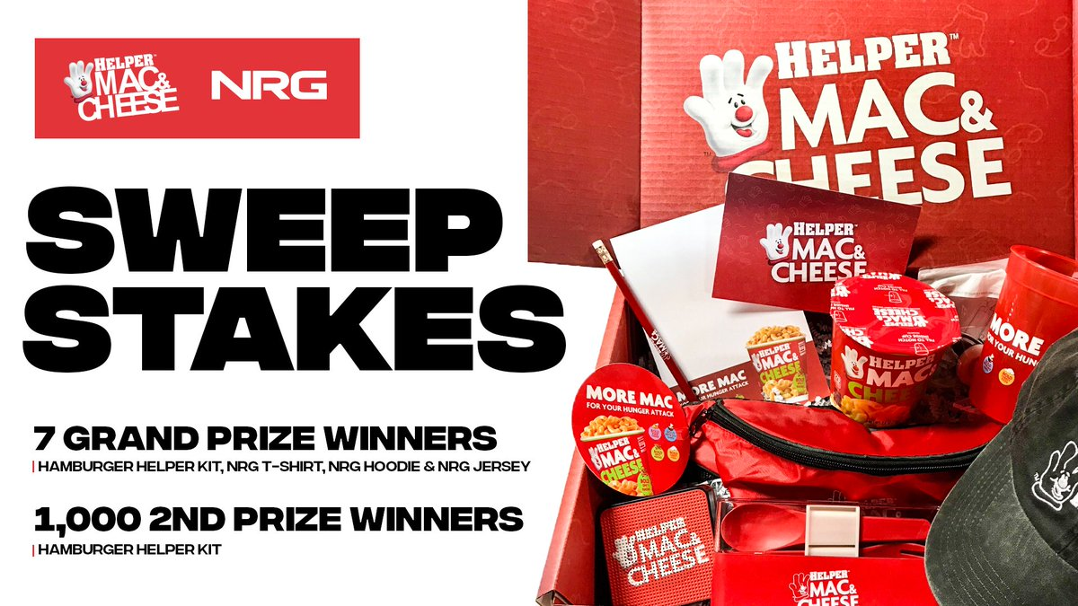 it's not to late to enter the sweepstakes! to enter, make sure you 👇   💞 like + rt 👉 reply with #helpermacandcheesesweepstakes #ad