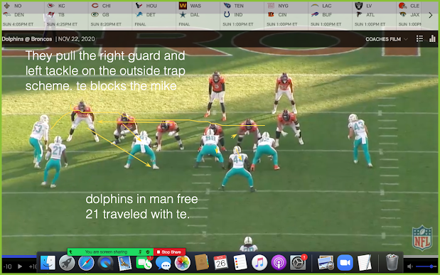 If you are a pin and pull o line or have issues running against bear front. See the article below. Munchak and broncos did a great job vs Dolphins. Really schemes them up nicely. https://t.co/hDlpRzfRVN https://t.co/fgyMYWINIJ