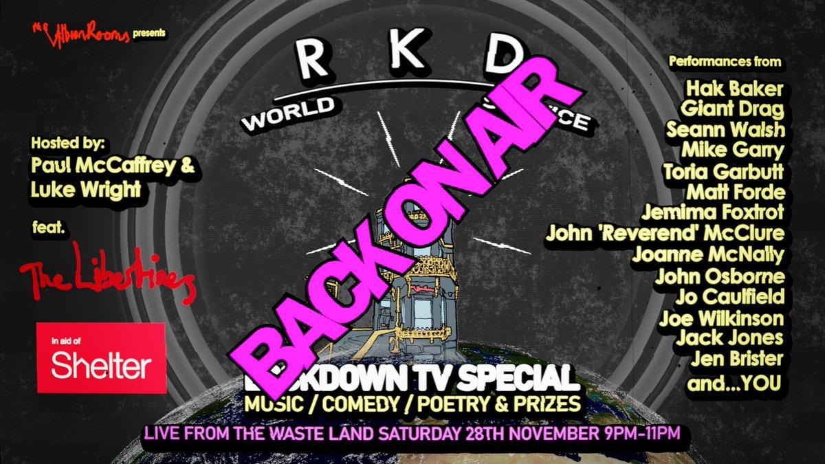 𝙸𝚏 𝚢𝚘𝚞 𝚜𝚝𝚒𝚕𝚕 𝚗𝚎𝚎𝚍 𝚊 𝚝𝚒𝚌𝚔𝚎𝚝, 𝚑𝚎𝚊𝚍 𝚝𝚘 bit.ly/RKDworld 𝚂𝚎𝚎 𝚢𝚘𝚞 𝚒𝚗 𝚊 𝚌𝚘𝚞𝚙𝚕𝚎 𝚘𝚏 𝚑𝚘𝚞𝚛𝚜! #RKDTV