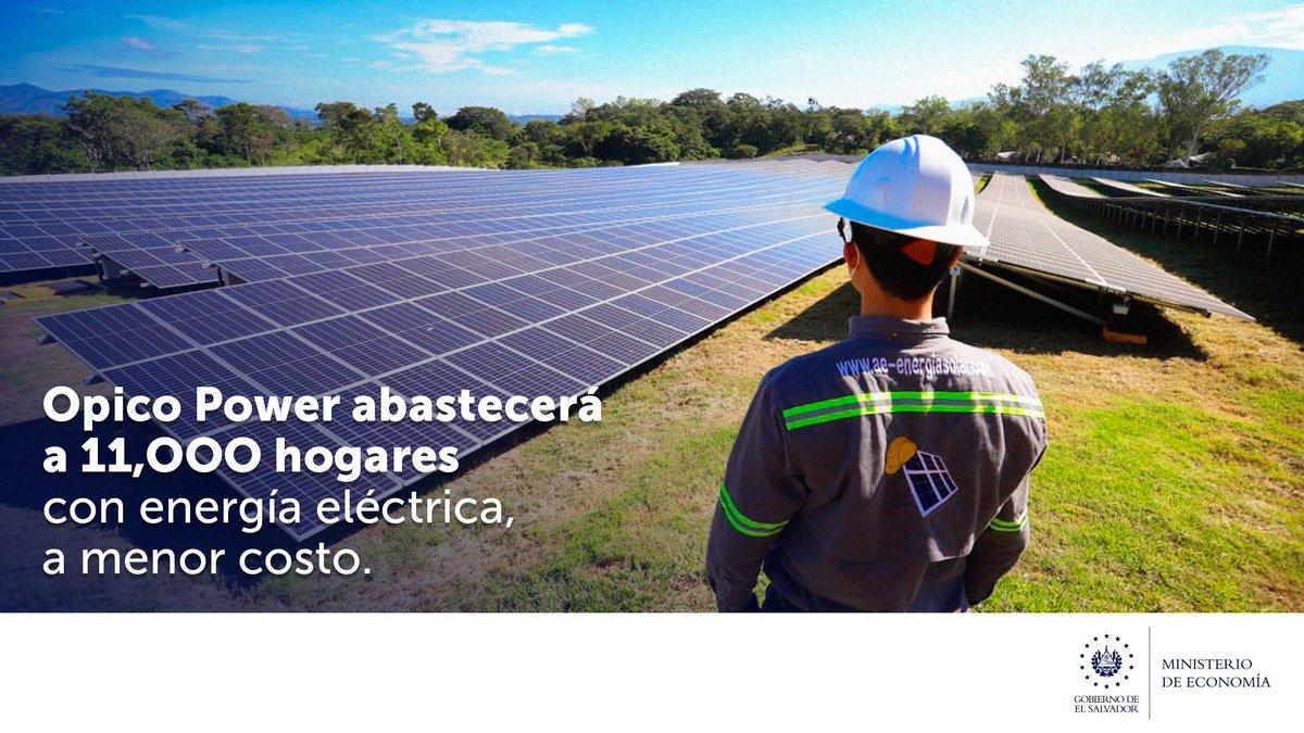 La planta #OpicoPower se suma a los más de $3 mil millones en inversión que bloquearon gobiernos anteriores y  logrará diversificar la red energética, a través de la producción de energías renovables. https://t.co/eBxO2YzOSM