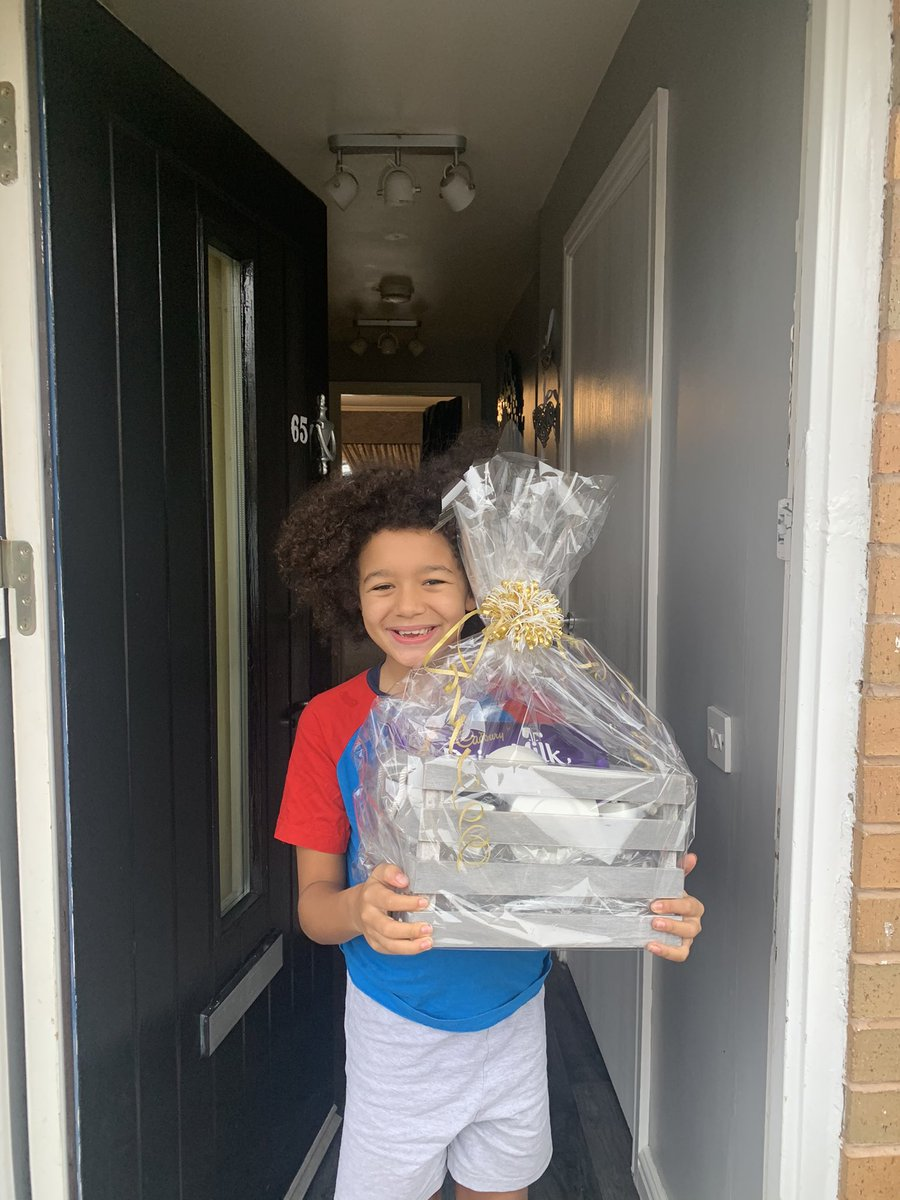 A #happy little member of The Friends & Family Hub with the Little Lottery Prize they won this week in the Parent/Carer Check-In 💙💛 #Smile #SEND #WINNER @TNLComFund https://t.co/bsYmR9OsHA