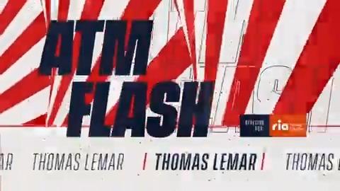 """📡 🔴  #ATMFLASH  🎙Lemar, uno de los mejores del partido, ¡te cuenta cómo se vivió el #ValenciaAtleti sobre el césped!   ✍ """"𝙷𝚎𝚖𝚘𝚜 𝚑𝚎𝚌𝚑𝚘 𝚞𝚗 𝚋𝚞𝚎𝚗 𝚙𝚊𝚛𝚝𝚒𝚍𝚘""""  🔴⚪#AúpaAtleti"""